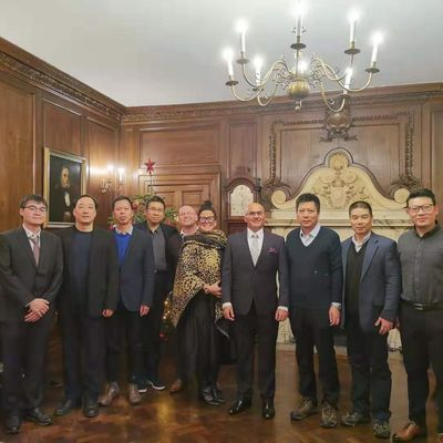 December 2019 Cambridge UK Ningbo Delegation visit